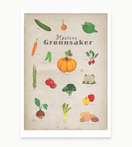Bilde av Høstens grønnsaker